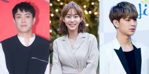 UEE, Song Yun Hyeong, Eun Ji Won, Shin Hyun Joon