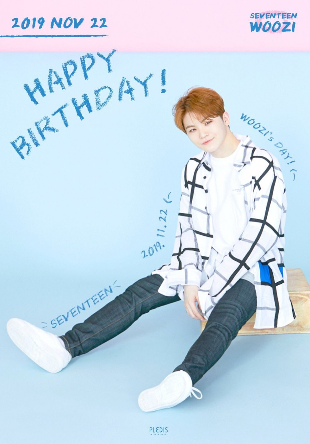 Ourmiraclewooziday Trending Worldwide On Twitter As Fans Celebrate Seventeen Woozi S Birthday Allkpop