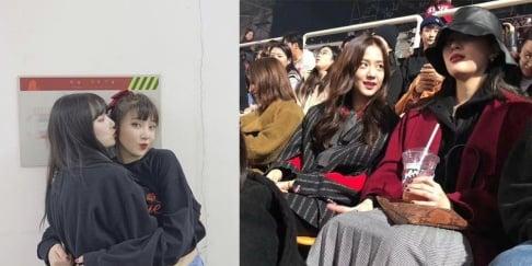 Jisoo, Yerin, Taeyeon, Hyojung, Sunmi, Nayeon, Momo