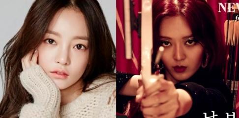 AOA, Seolhyun, ChoA, Yuna, Sulli, Hara