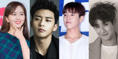 Choi Woo Sik, Hong Soo Hyun, Kim So Hyun, Lee Hyun Woo, Lee Jae Hoon, Park Seo Joon