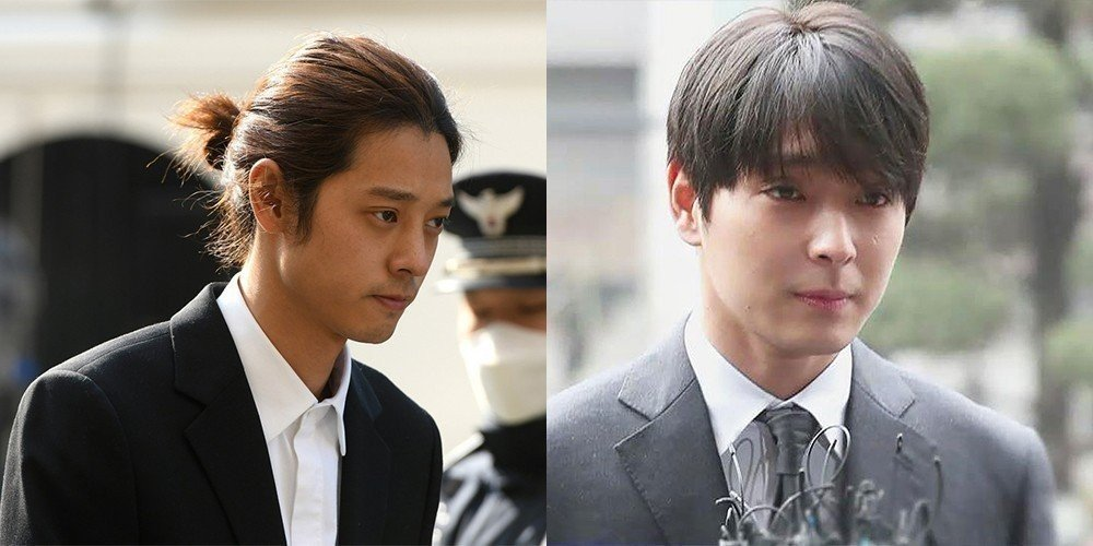 Image result for K-Pop Stars Jung Joon-young And Choi Jong-hoon Sentenced To Prison For Raping Unconscious Women