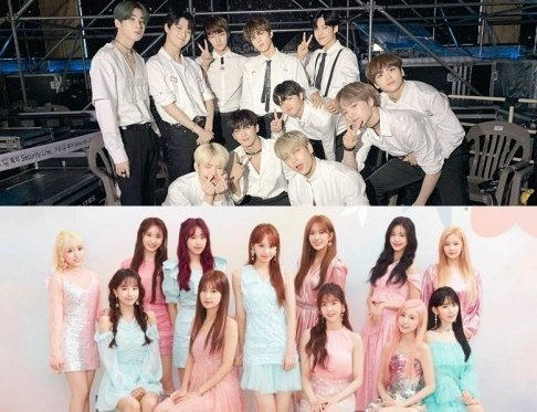 IZ*ONE, Wanna One, X1