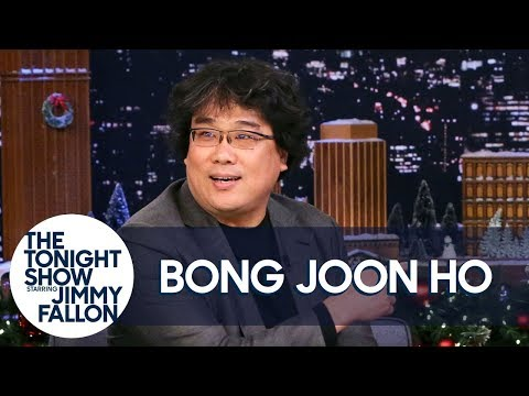 Watch 'Parasite' director Bong Joon Ho on 'The Tonight Show Starring Jimmy Fallon'!   allkpop