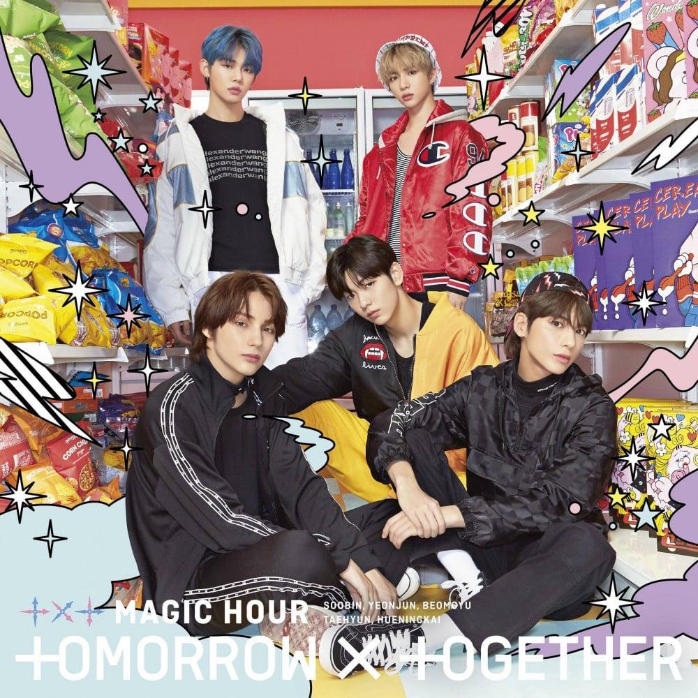 TXT Rilis Album Jacket Photo MAGIC HOURS, Pertanda Debut di Jepang Makin Dekat