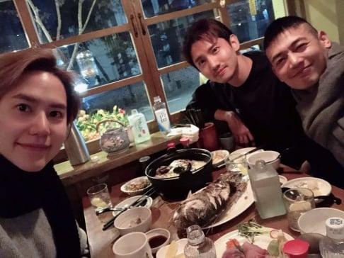 Minho, Kyuhyun, Changmin