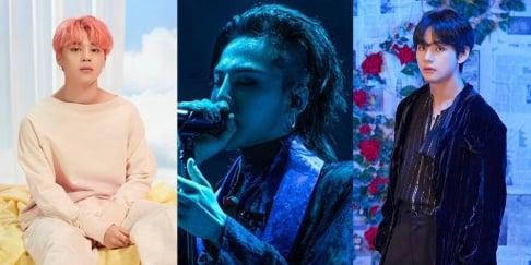 G-Dragon, V, Jimin