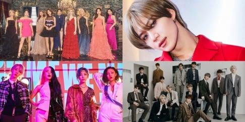 Yeonjung, GOT7, Jang Woo Hyuk, Kim Chung Ha, Kei, MONSTA X, NU