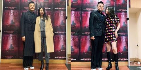 J.Y. Park, Sohee, Sunmi