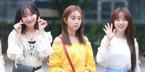 Lovelyz, Kei, (Soojung) Ryu Soo Jung, (Jisoo) Seo Ji Soo
