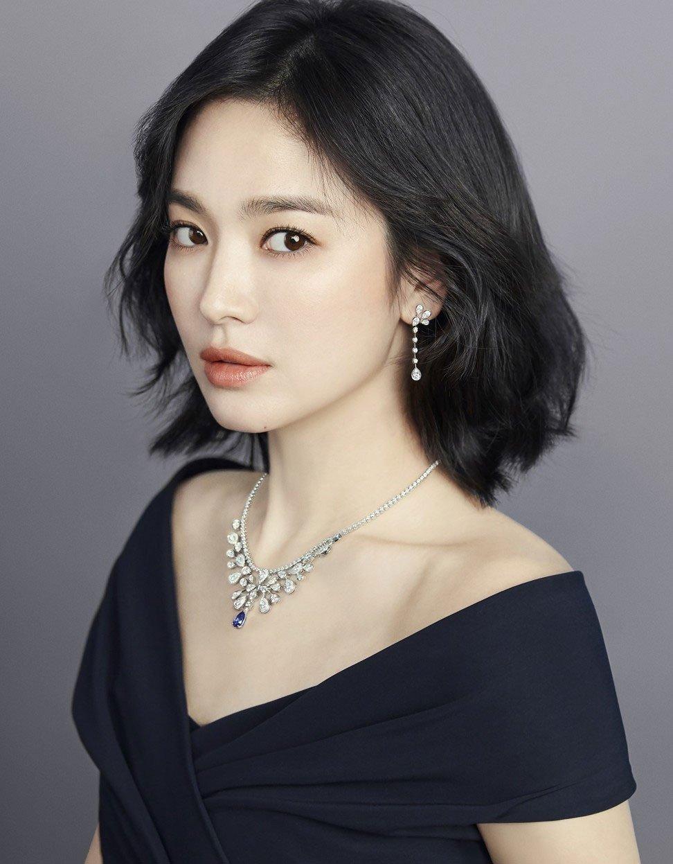 Red Velvet Irene's Diamond Necklace at the '2019 KBS Music ...