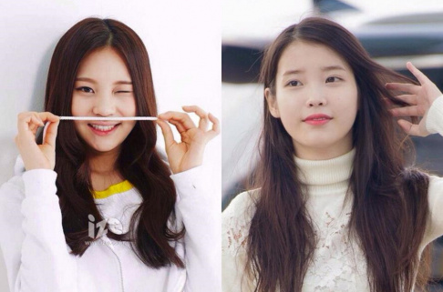 GFriend (Girlfriend), Umji, IU