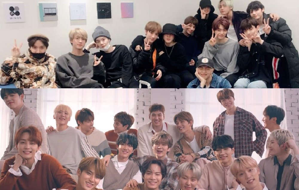 Image result for pledis entertainment seventeen""