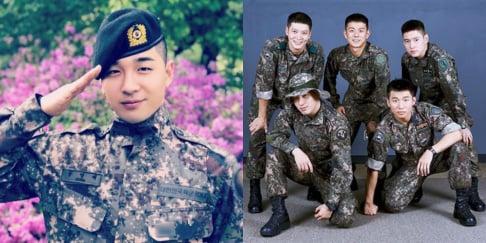 Beenzino, Big Bang, Taeyang, Daesung, Go Kyung Pyo, Joo Won