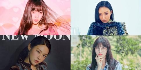 Seolhyun, Hwa Sa, Joy, Momo