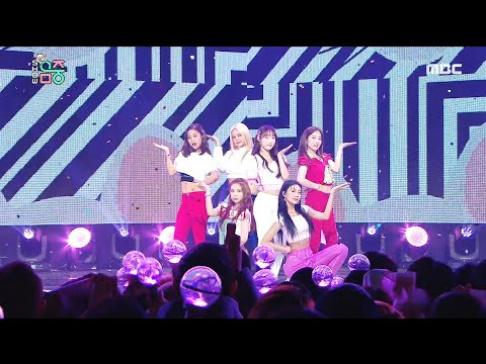 April, Chaekyung, CLC, Sorn, Yujin, Seungyeon, Cosmic Girls, Soobin, Momoland, Hyebin