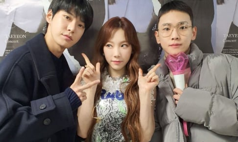Taeyeon, Doyoung, Key