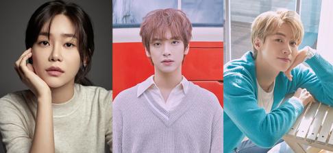 AOA, Yuna, N.Flying, Jaehyun, Seunghyub