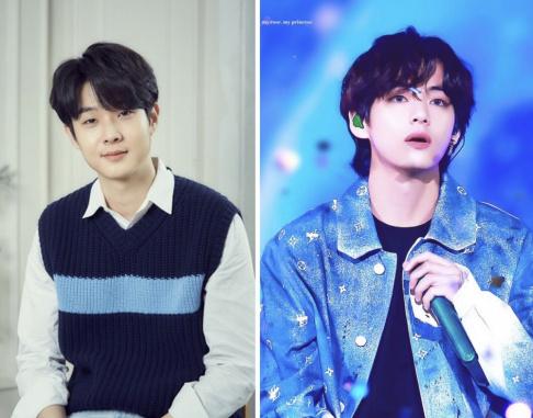 BTS, V, Choi Woo Sik