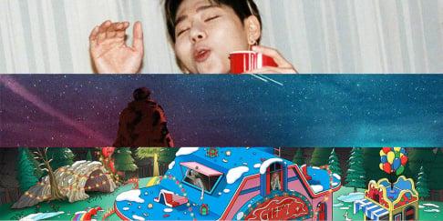 Zico, Changmo, IU, MAMAMOO, Noel, Red Velvet, Baek Ye Rin