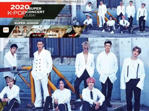 LABOUM, NCT 127, Super Junior