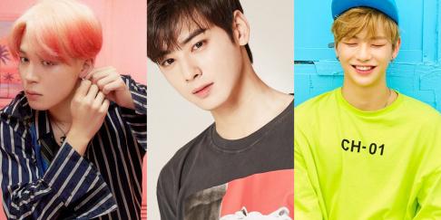 ASTRO, Cha Eun Woo, BTS, Jimin, Kang Daniel