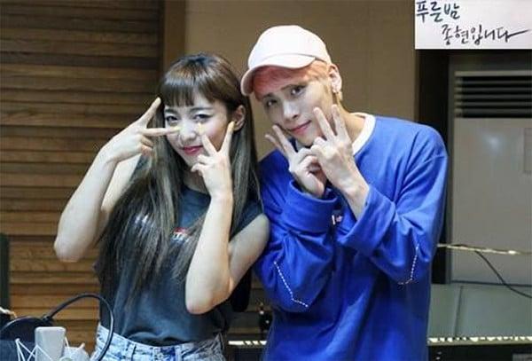 Image result for luna and jonghyun