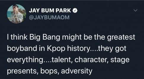 Big Bang, Jay Park