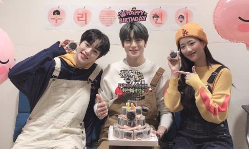 Naeun, Minhyuk, Jaehyun