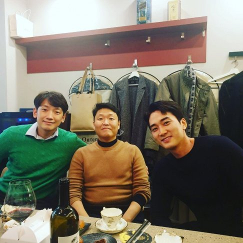 Psy, Rain, Song Seung Hun