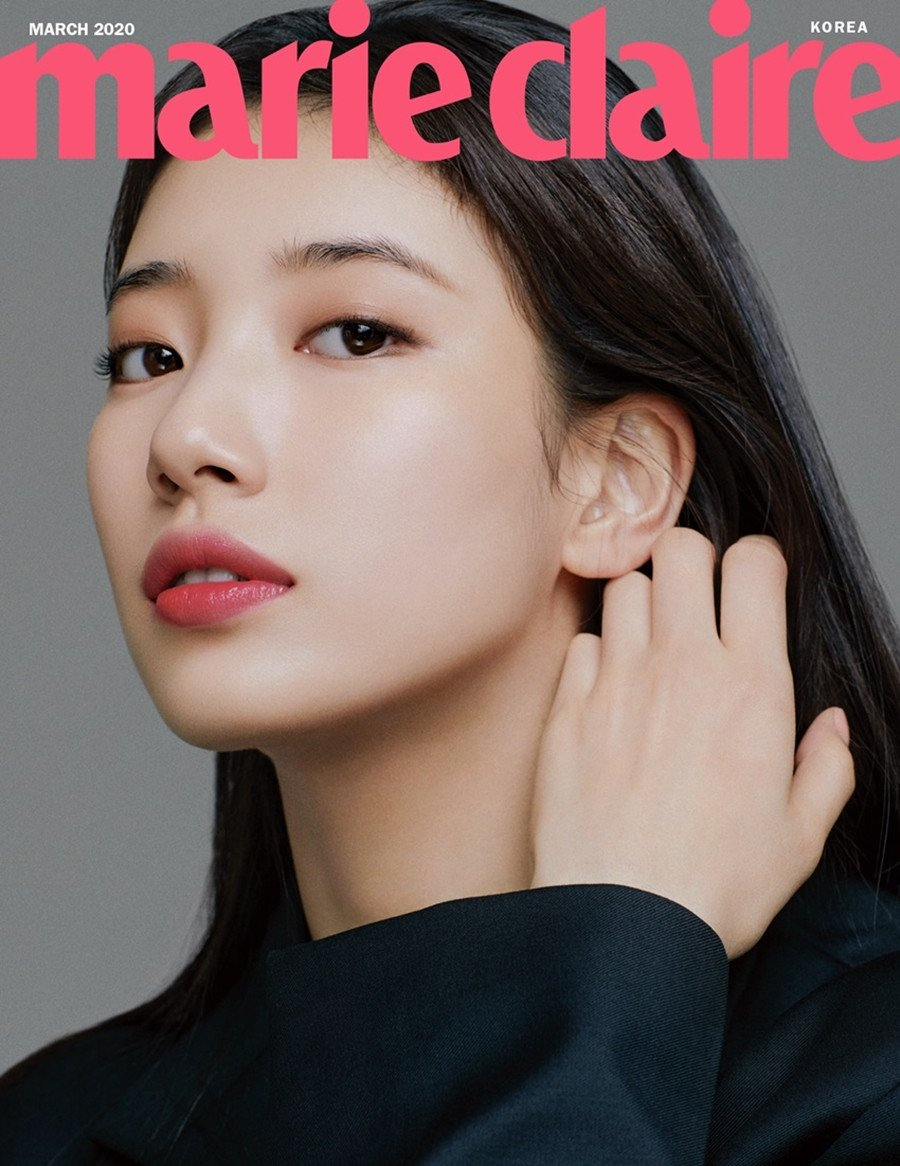 Suzy is the queen of spring for 'Marie Claire'