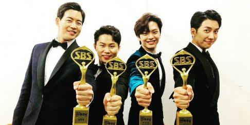 Sungjae, Lee Sang Yoon, Lee Seung Gi, Shin Sung Rok, Yang Se Hyung