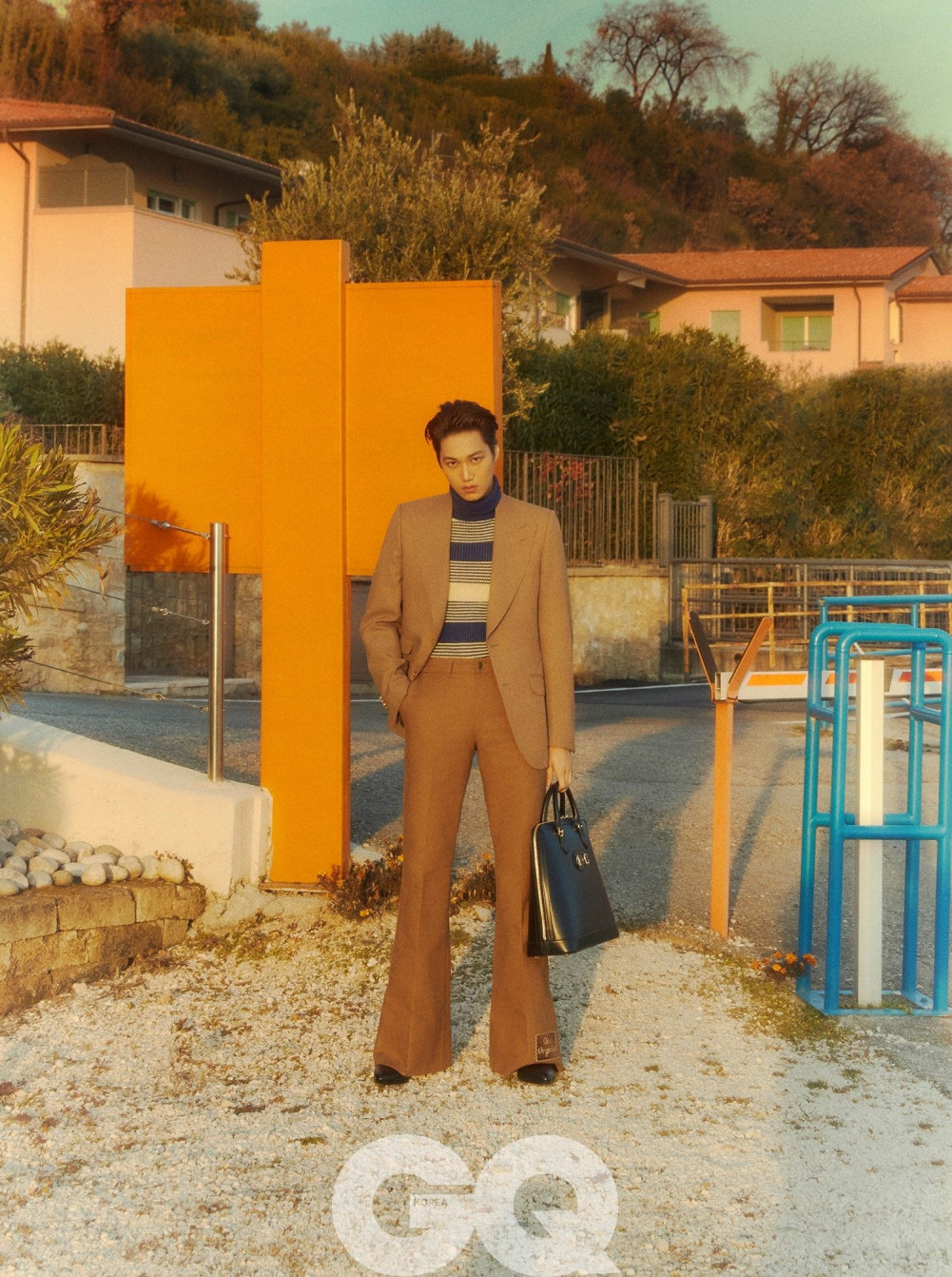 Exo S Kai Is A Unique Gucci Muse In Gq Korea Allkpop
