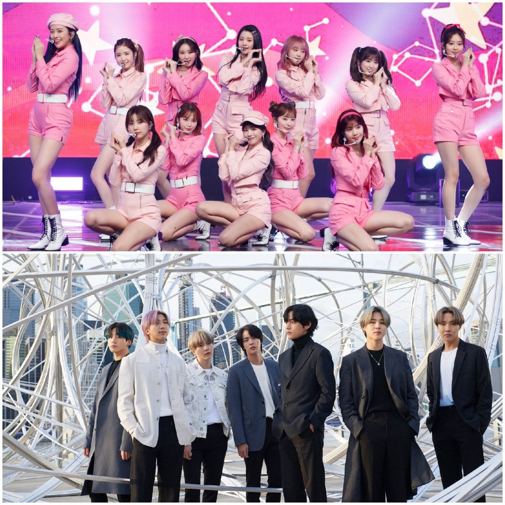 Netizens talk about how BTS and IZ*ONE took over Melon