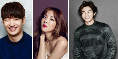 Daesung, Son Ho Young, Seung Ho, Dara