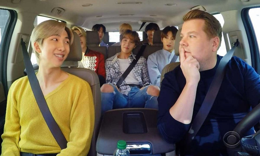 BTS Does 'Carpool Karaoke' And Twitter Loses Its Mind Over 'Papa Mochi'