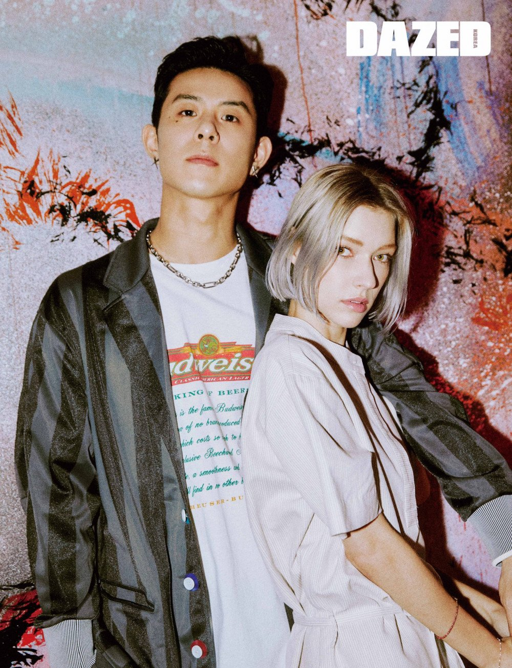 Beenzino and Stefanie Michova share romantic moments in the New Year's Eve
