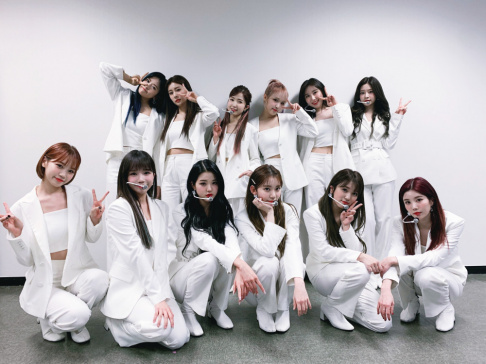 A Pink, BLACKPINK, EVERGLOW, GFriend (Girlfriend), IZ*ONE, LOONA, MAMAMOO, Red Velvet, Rocket Punch, TWICE