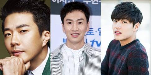 Kang Ha Neul, Kwon Sang Woo, Lee Kwang Soo