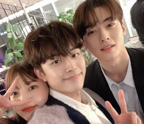 Cha Eun Woo, Joy, Yu Seon Ho