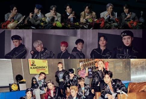 BTS, EXO, NCT