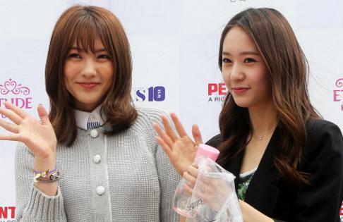 f(x), Krystal, KARA, Jiyoung
