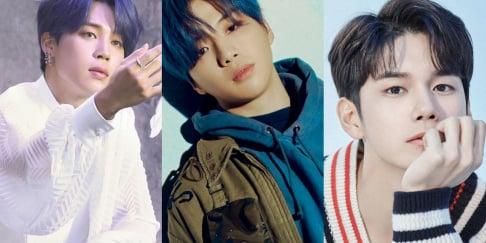 BTS, Jimin, Kang Daniel, Ong Seong Wu