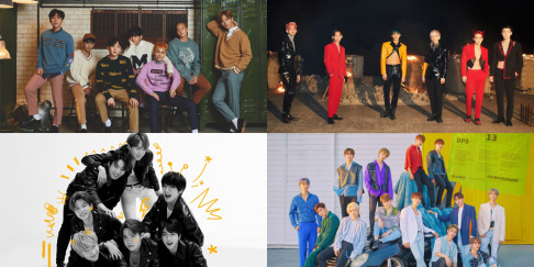 BTOB, BTS, EXO, Seventeen
