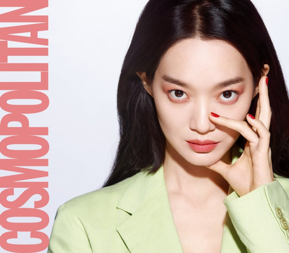 Girl Crush: Shin Min Ah. South Korean model and actress
