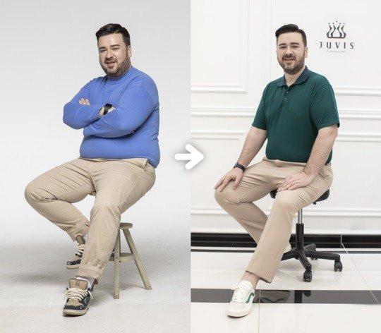 sam hammington pierde în greutate