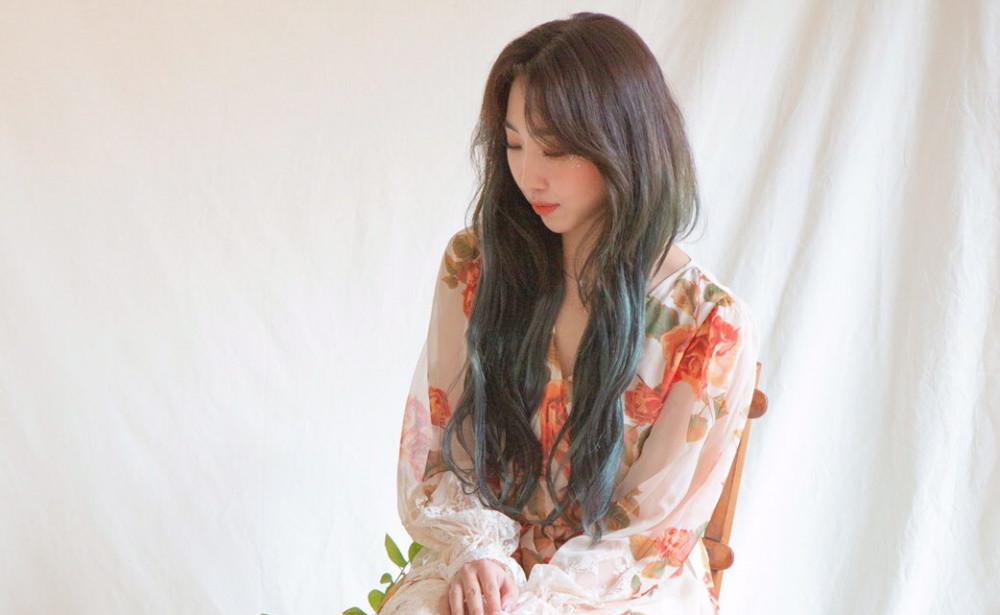Minzy reveals flowery teaser image for 'Lovely' comeback | allkpop