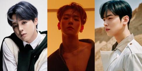 Cha Eun Woo, BTS, Jimin, Baekhyun