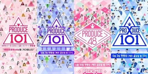 IOI, IZ*ONE, Wanna One, X1