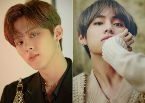 BTS, V, Kim Woo Seok
